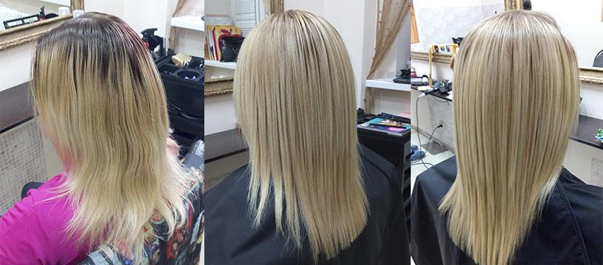 Кератиновое выпрямление волос во владимире
